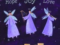 hope-joy-love Angels Christmas cards