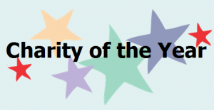 Charity of the year logo